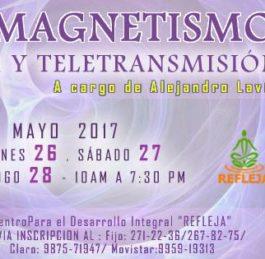 CURSO INTERNACIONAL HOLOBIOMAGNETISMO: CIBERTELEPATÍA Y TELETRANSMISIÓN (LIMA – PERÚ)