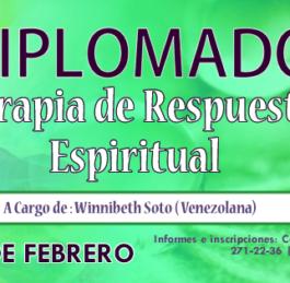 DIPLOMADO DE TERAPIA DE RESPUESTA ESPIRITUAL