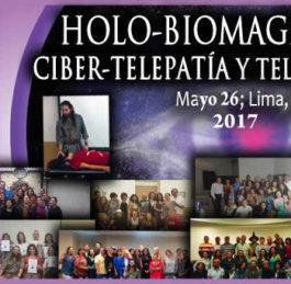 CURSO INTERNACIONAL DE HOLOBIOMAGNETISMO: CIBERTELEPATÍA Y TELETRANSMISIÓN (LIMA – PERÚ)